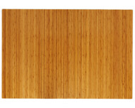 "Bamboo Roll-Up Chairmat, 60"" x 48"", no lip - Natural"