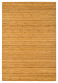"Bamboo Roll-Up Chairmat, 72"" x 48"", no lip - Natural"