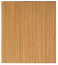 "Bamboo Tri-Fold Plush Chairmat, 42"" x 48"", no lip - Natural"