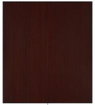 "Bamboo Tri-Fold Plush Chairmat, 42"" x 48"", no lip - Dark Cherry"