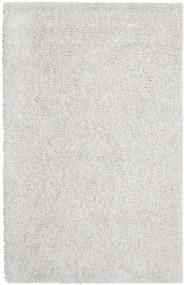 Ivory Silky Shag Rug - 4' x 6'