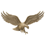 "Whitehall 36"" Wall Eagle - Antique Brass - Aluminum"