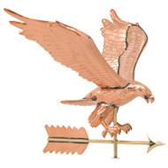 Whitehall Copper Eagle Weathervane - Polished - Copper