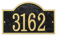 Whitehall Fast & Easy Arch House Numbers Plaque
