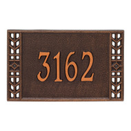 Whitehall Personalized Boston Plaque - Standard - Wall - 1 Line