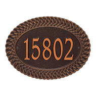 Whitehall Personalized Chartwell Plaque - Standard - Wall - 1 Line