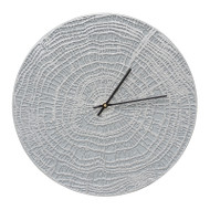 "Whitehall End Grain 16"" Indoor Outdoor Wall Clock"