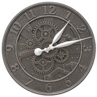 "Whitehall Gear 16"" Indoor Outdoor Wall Clock"