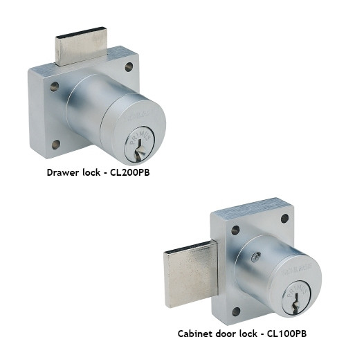 Schlage Cl Series Portable Locks Heavy Duty Cabinet Conventional Cylinder