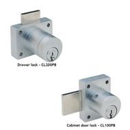 Schlage CL Series Portable Locks Heavy Duty Cabinet Locks - Conventional Cylinder