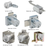 Schlage CL Series Portable Locks Heavy duty Cabinet Locks - Everest Restricted Small Format Interchangeable Core SFIC