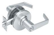 Schlage Storeroom function lever lockset AL series, Saturn lever