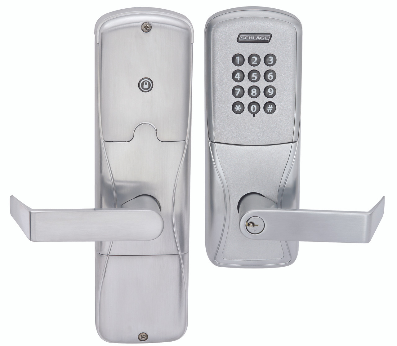 Schlage Electronic Ad 200 Series Rights On Lock Standalone