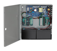 Schlage Power Supplies and Accessories PS900 Series PS904 4A @ 12/24 VDC 2 Distribution and 1 Battery Backup Boards