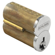 Schlage Small Format Interchangeable Core cylinder SFIC 6-Pin uncombinated, - 80-043