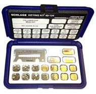 Schlage  Pin kit with snap-tight plastic box  - 40-134