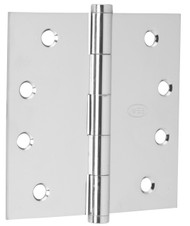 "Ives Architectural Hinges 1000 Series Residential Full mortise Steel Substrates hinges Non rising pin 4"" x 4"", Square Corner (Order in multiples of 3) - 1020F"