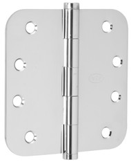 "Ives Architectural Hinges 1000 Series Residential Full mortise Steel Substrates hinges Non rising pin 4"" x 4"", 5/8"" Radius Corner (Order in multiples of 3) - 1021F"