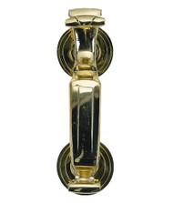 """BRASS Accents Traditional Doctor's Door Knocker 6-1/2"""""""