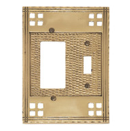 BRASS Accents Arts & Crafts Switchplates