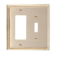 BRASS Accents Georgian Switchplates