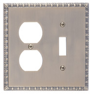BRASS Accents Egg & Dart Switchplates