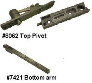 Center Pivot Hinge