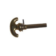 BRASS Accents Turn Knob Rose Assembly (D09-C0300)