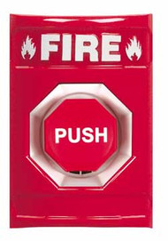 Fire  push button switch