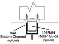 Bottom Channel Guide