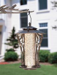 "Whitehall Silhouette Bird Hanging Feeders Aluminum - 12"""