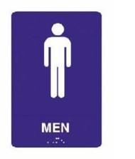 ADA Tactile Sign for Men