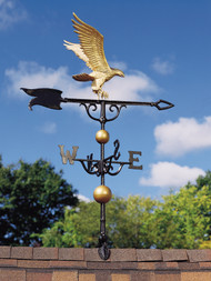 "Whitehall Traditional Directions Aluminum Weathervanes - 46"" (0 428)"