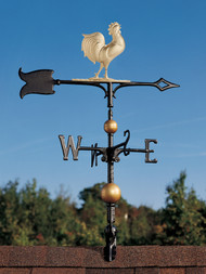 """Whitehall Traditional Directions Full-Bodied Aluminum Weathervanes - 30"""" (03231)"""