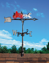 "Whitehall Traditional Directions Color Aluminum Weathervanes - 30"" (65551)"