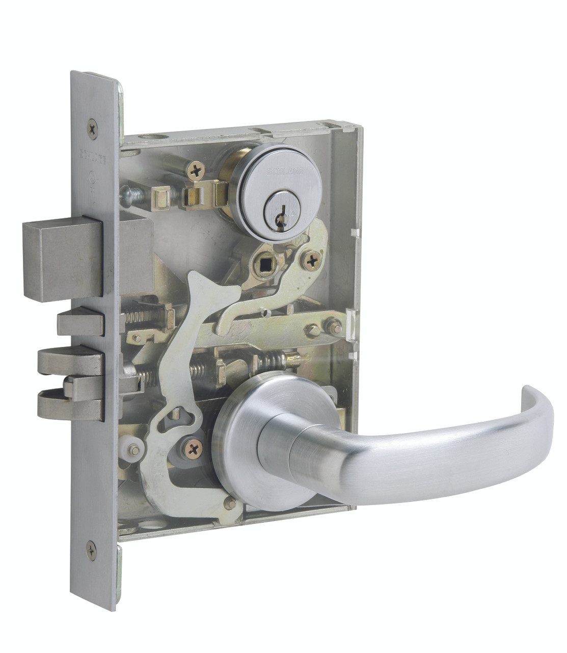 Schlage L Series L9000 Grade 1 Mortise Locks - M Collection Lever ...