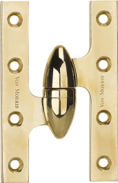 Von Morris 6 inch Olive Knuckle Hinge-19-6038
