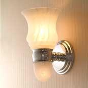 CHELSEA Light W/ Nuage Glass W/ Nightlight