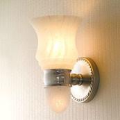 CANTERBURY Light W/ Nuage Glass W/ Nightlight