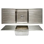 Basin Sink  Double Drainboard
