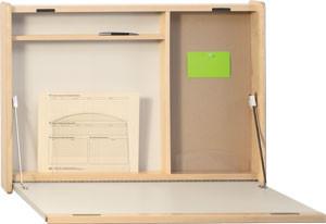 Fold Down Wall Desk - 4808-LV