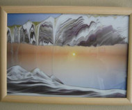 KB Collection  Wall Mount Movie Series Rainbow Vision Sand Picture Sunset - Large size