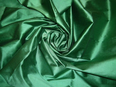 Dark Spring Green 100% Authentic Silk Fabric