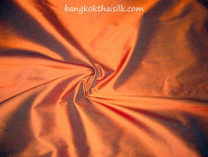 Copper Brown 100% Authentic Silk Fabric