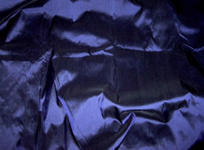 Dark Blue 100% Authentic Silk Fabric