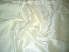 Ivory 100% Authentic Silk Fabric