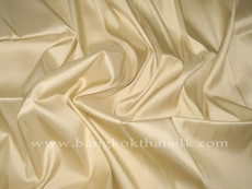 Beige Tan 100% Authentic Silk Fabric