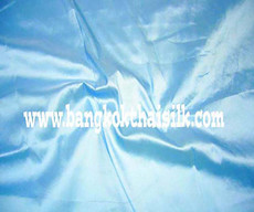 Baby Blue 100% Authentic Silk Fabric