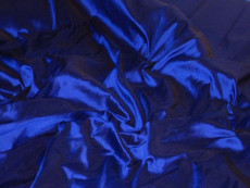 Ultramarine Blue 100% Authentic Silk Fabric
