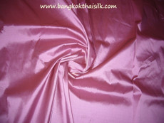 Pink Dusty Rose 100% Authentic Silk Fabric